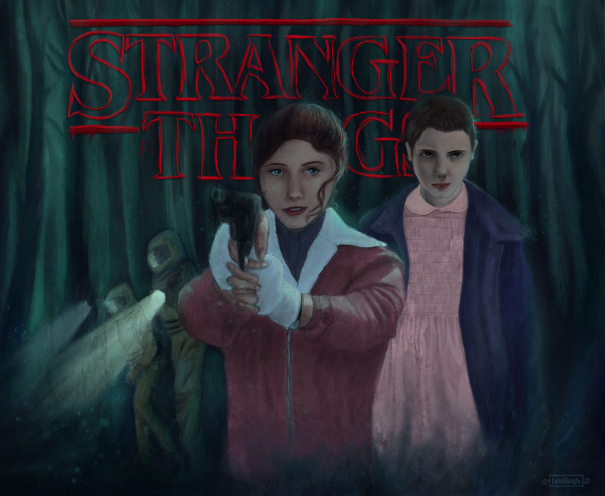stranger things alternate poster fan art