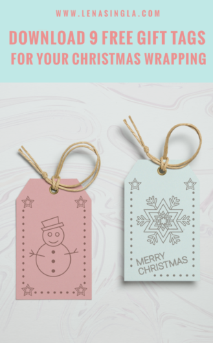 click to download free gift tags
