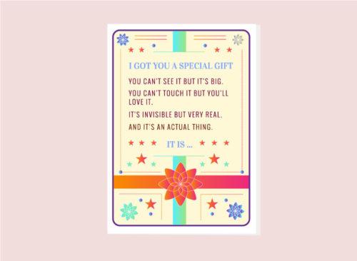 postcard digital gift