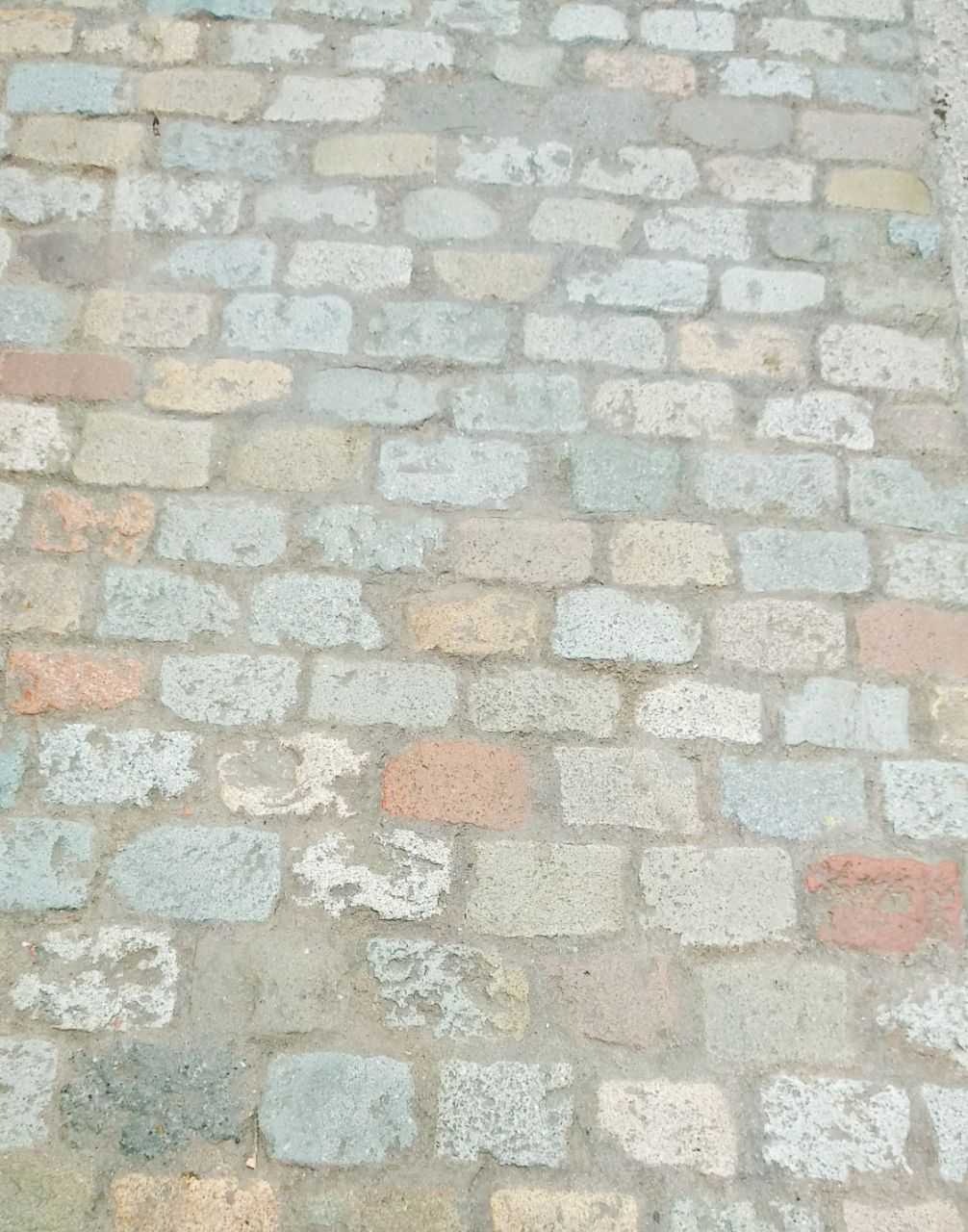 colourful cobblestones